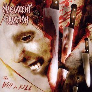Malevolent Creation: Will To Kill, The - Cover