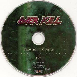 Overkill: Hello From The Gutter - The Best Of Overkill (2-CD) - Bild 4