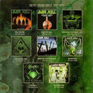 Overkill: Hello From The Gutter - The Best Of Overkill (2-CD) - Bild 6