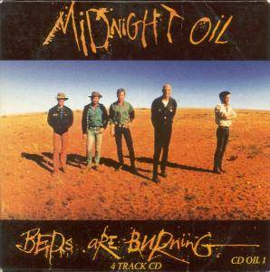 Midnight Oil: Beds Are Burning - Cover