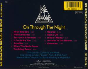Def Leppard: On Through The Night (CD) - Bild 3