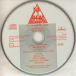 Def Leppard: On Through The Night (CD) - Bild 4