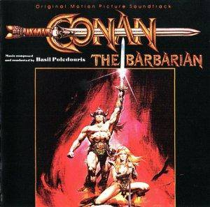 Basil Poledouris: Conan The Barbarian - Cover