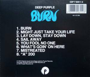 Deep Purple: Burn (CD) - Bild 2