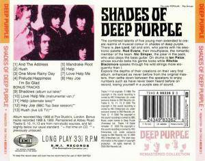 Deep Purple: Shades Of Deep Purple (CD) - Bild 2