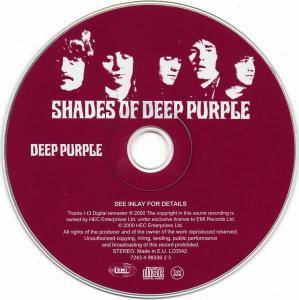 Deep Purple: Shades Of Deep Purple (CD) - Bild 4