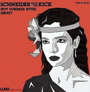 Schneider With The Kick: Hot Summer Nites - Cover