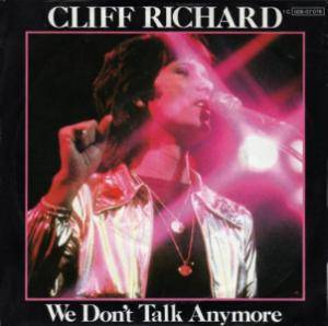 Cliff Richard: We Don't Talk Anymore - Cover