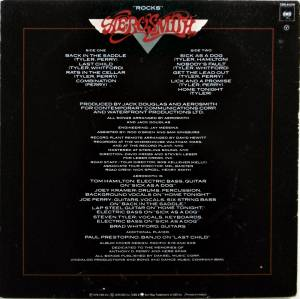 Aerosmith: Rocks (LP) - Bild 2