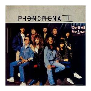 Cover - Phenomena: Did It All For Love