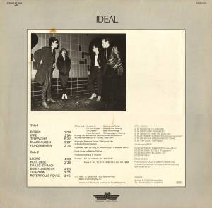 Ideal: Ideal (LP) - Bild 2