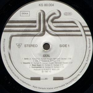 Ideal: Ideal (LP) - Bild 3