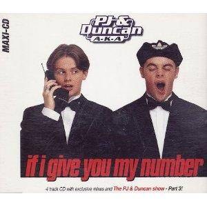 Cover - PJ & Duncan Aka: If I Give You My Number