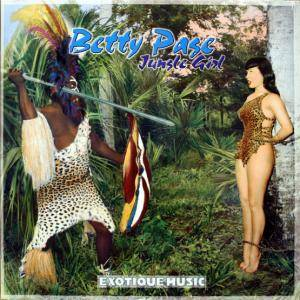 Cover - Harald Winkler: Betty Page: Jungle Girl - Exotique Music