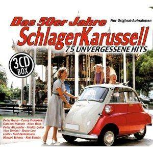 Cover - Angèle Durand: 50er Jahre Schlager Karussell, Das