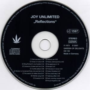 Joy Unlimited: Reflections (CD) - Bild 3