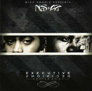 Cover - Nas: Executive Decisions