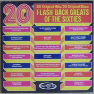 Cover - Johnny Kidd & The Pirates: 20 Flash Back Greats Of The Sixties