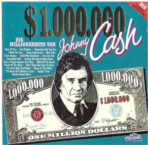 Johnny Cash: One Million Dollars Cash - Cover