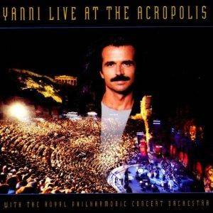 Yanni: Live At The Acropolis - Cover