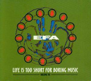 Cover - Ahlam: Efa - Volume VII - Life Is Too Short For Boring Music
