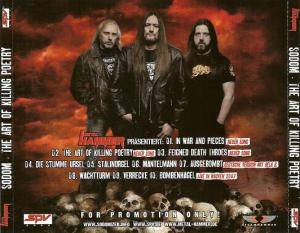 Sodom: The Art Of Killing Poetry (CD) - Bild 4
