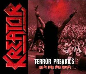 Kreator: Terror Prevails - Live At Rock Hard Festival - Cover