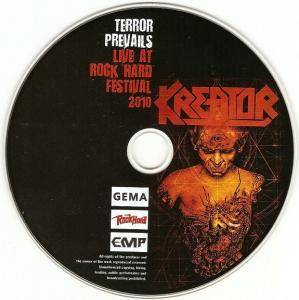 Kreator: Terror Prevails - Live At Rock Hard Festival (CD) - Bild 5