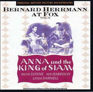 Bernard Herrmann: Anna And The King Of Siam - Cover