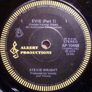 Cover - Stevie Wright: Evie