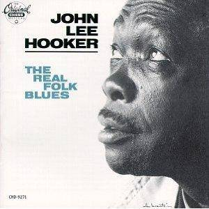 John Lee Hooker: Real Folk Blues, The - Cover
