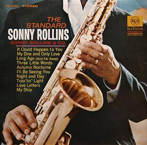 Cover - Sonny Rollins & Co.: Standard Sonny Rollins, The