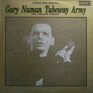 Cover - Tubeway Army: Double Peel Sessions
