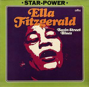 Ella Fitzgerald: Basin Street Blues - Cover