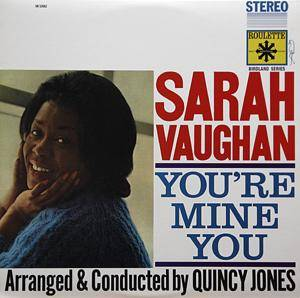 Sarah Vaughan: You're Mine You - Cover