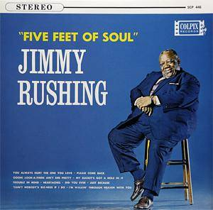 Cover - Jimmy Rushing: Five Feet Of Soul
