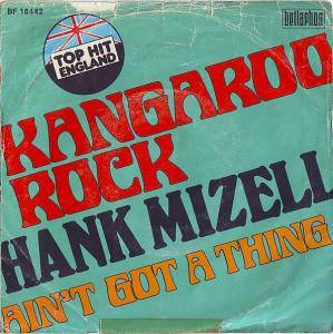 Cover - Hank Mizell: Kangaroo Rock