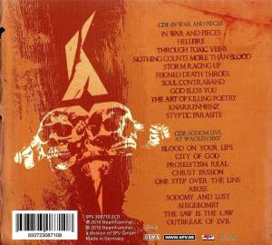 Sodom: In War And Pieces (2-CD) - Bild 2