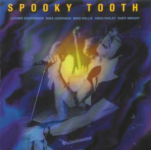 Spooky Tooth: Live In Europe - Cover