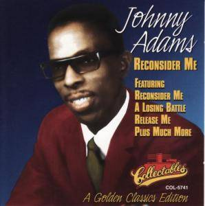 Johnny Adams: Reconsider Me - Cover