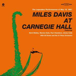 Miles Davis: At Carnegie Hall - Cover