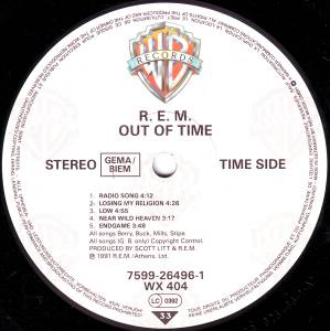 R.E.M.: Out Of Time (LP) - Bild 3
