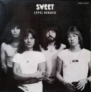 The Sweet: Level Headed - Cover
