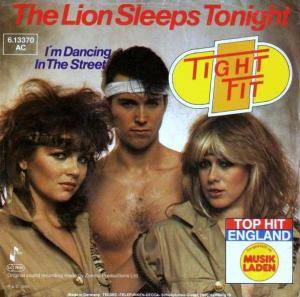 Cover - Tight Fit: Lion Sleeps Tonight, The