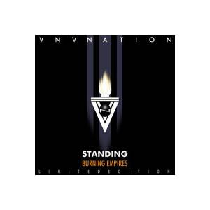 Cover - VNV Nation: Standing - Burning Empires