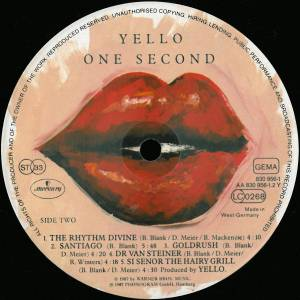Yello: One Second (LP) - Bild 4