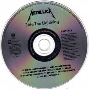 Metallica: Ride The Lightning (CD) - Bild 3
