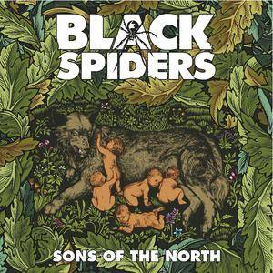 Black Spiders: Sons Of The North - Cover