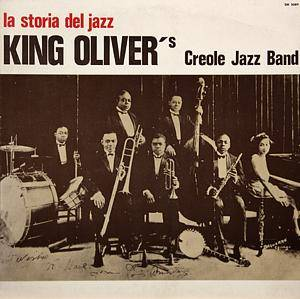 Cover - King Oliver's Creole Jazz Band: King Oliver 1923