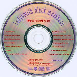 Ladysmith Black Mambazo: Two Worlds One Heart (CD) - Bild 3